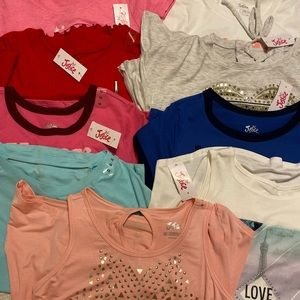 NWT set of Justice girls Tops & Tanks!